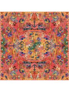 201603_FionaK_Silk_scarf_Coral_1